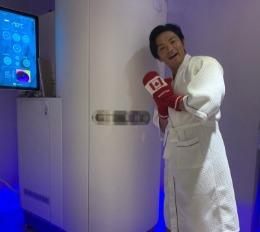 藝人薔薔上女人我最大節目介紹 「海亞-極光冷凍艙」